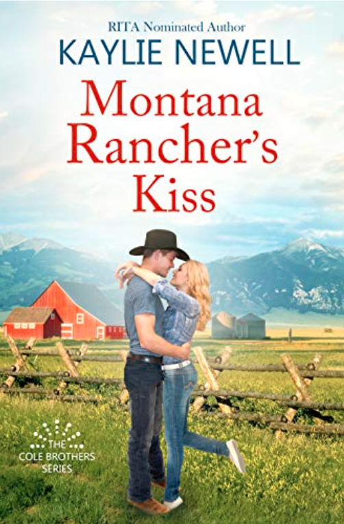 Montana Rancher's Kiss (The Cole Brothers Book 2)